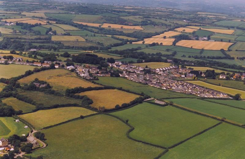 Llangain Village Carmarthenshire